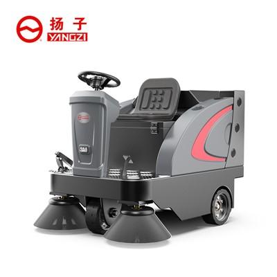 工厂为什么要选择电动扫地车?