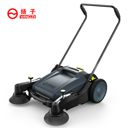 车间地面用手推式扫地机合适吗