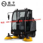 驾驶式扫地机的工作原理和优势!