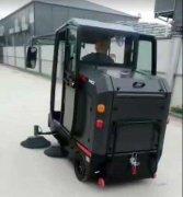 扬子工业扫地机在中南建设集团投入使用