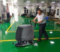 可以用洗地机清洗环氧地坪地面吗