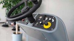 驾驶式洗地机,车库大面积清洁利器