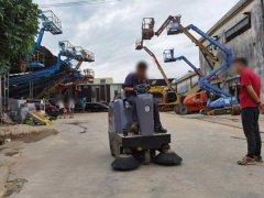 浙江台州某机械厂采购S4电动扫地机
