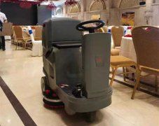 油污地面清洗专用洗地机